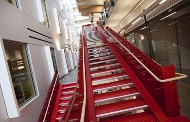 Stairs, Handrails, Glass, London, Balustrade, Steelwork, Koyda