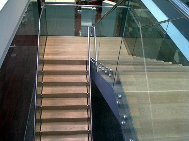Staircase in london by Koyda Ltd, Balustrade, Gates, Railings, Metalwork, Surrey